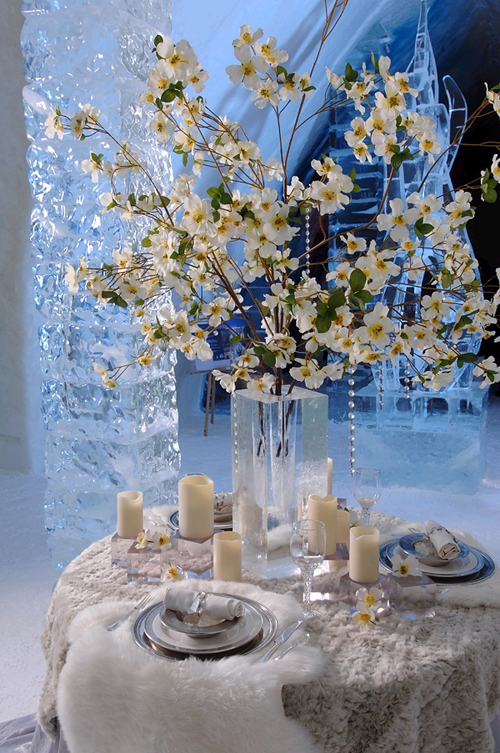 Brides n blooms winter wonderland weddings ice blue with dots of white yellow picture by bellz whistlez blog solutioingenieria
